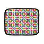Modernist Floral Tiles Netbook Case (Small)