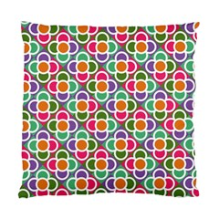 Modernist Floral Tiles Standard Cushion Case (two Sides) by DanaeStudio