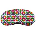 Modernist Floral Tiles Sleeping Masks