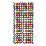 Modernist Floral Tiles Shower Curtain 36  x 72  (Stall)