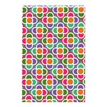 Modernist Floral Tiles Shower Curtain 48  x 72  (Small)