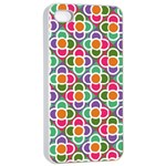 Modernist Floral Tiles Apple iPhone 4/4s Seamless Case (White)
