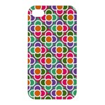 Modernist Floral Tiles Apple iPhone 4/4S Hardshell Case