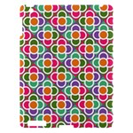Modernist Floral Tiles Apple iPad 3/4 Hardshell Case