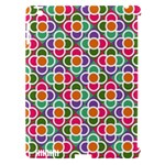 Modernist Floral Tiles Apple iPad 3/4 Hardshell Case (Compatible with Smart Cover)