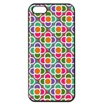 Modernist Floral Tiles Apple iPhone 5 Seamless Case (Black)