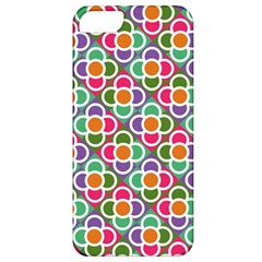 Modernist Floral Tiles Apple Iphone 5 Classic Hardshell Case