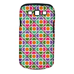 Modernist Floral Tiles Samsung Galaxy S Iii Classic Hardshell Case (pc+silicone) by DanaeStudio