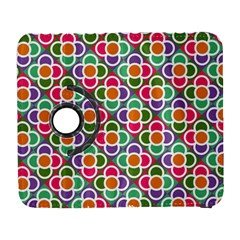 Modernist Floral Tiles Samsung Galaxy S  Iii Flip 360 Case by DanaeStudio