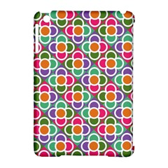 Modernist Floral Tiles Apple iPad Mini Hardshell Case (Compatible with Smart Cover)