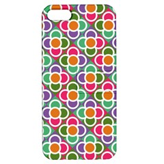 Modernist Floral Tiles Apple Iphone 5 Hardshell Case With Stand by DanaeStudio