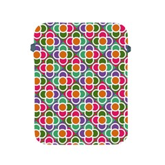 Modernist Floral Tiles Apple Ipad 2/3/4 Protective Soft Cases by DanaeStudio