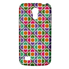 Modernist Floral Tiles Galaxy S4 Mini by DanaeStudio
