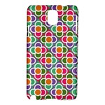 Modernist Floral Tiles Samsung Galaxy Note 3 N9005 Hardshell Case