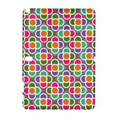 Modernist Floral Tiles Samsung Galaxy Note 10 1 (p600) Hardshell Case