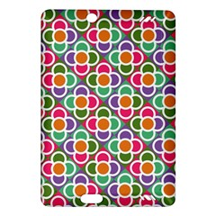Modernist Floral Tiles Amazon Kindle Fire Hd (2013) Hardshell Case by DanaeStudio