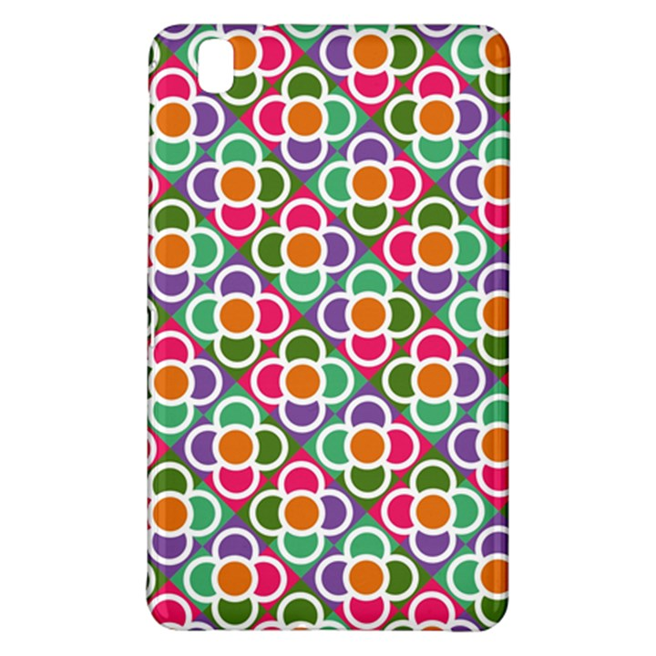 Modernist Floral Tiles Samsung Galaxy Tab Pro 8.4 Hardshell Case