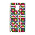 Modernist Floral Tiles Samsung Galaxy Note 4 Hardshell Case