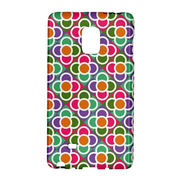 Modernist Floral Tiles Galaxy Note Edge
