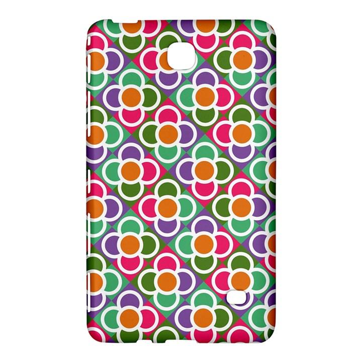 Modernist Floral Tiles Samsung Galaxy Tab 4 (8 ) Hardshell Case