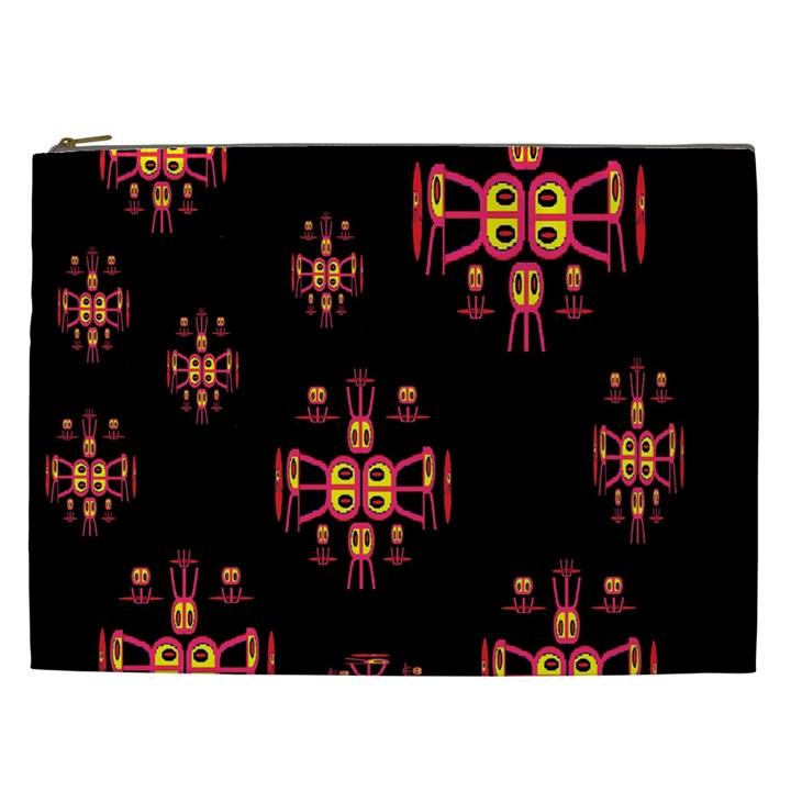 Alphabet Shirtjhjervbretili Cosmetic Bag (XXL)