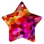 Geometric Fall Pattern Ornament (Star)