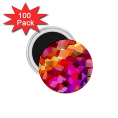 Geometric Fall Pattern 1 75  Magnets (100 Pack)
