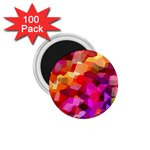 Geometric Fall Pattern 1.75  Magnets (100 pack)  Front