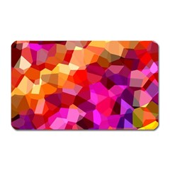 Geometric Fall Pattern Magnet (rectangular)