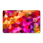 Geometric Fall Pattern Magnet (Rectangular) Front