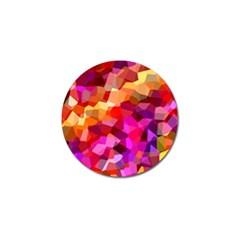 Geometric Fall Pattern Golf Ball Marker (10 Pack) by DanaeStudio