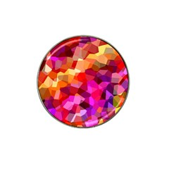 Geometric Fall Pattern Hat Clip Ball Marker (10 Pack) by DanaeStudio