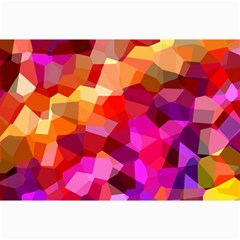 Geometric Fall Pattern Collage Prints by DanaeStudio