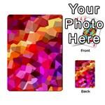 Geometric Fall Pattern Multi-purpose Cards (Rectangle)  Frontback