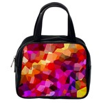 Geometric Fall Pattern Classic Handbags (2 Sides) Back