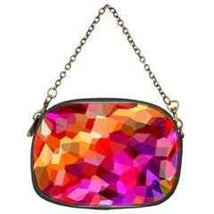 Geometric Fall Pattern Chain Purses (one Side)  by DanaeStudio