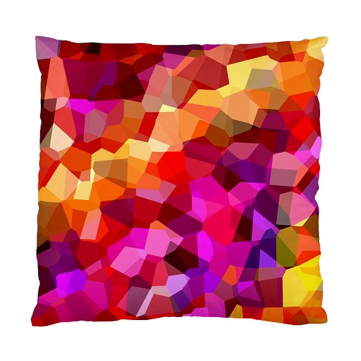 Geometric Fall Pattern Standard Cushion Case (Two Sides)