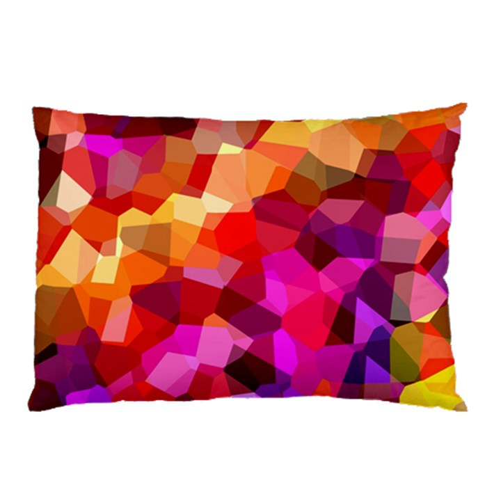 Geometric Fall Pattern Pillow Case