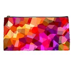 Geometric Fall Pattern Pencil Cases Front