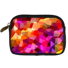Geometric Fall Pattern Digital Camera Cases by DanaeStudio