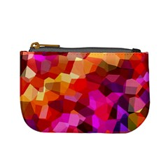 Geometric Fall Pattern Mini Coin Purses by DanaeStudio