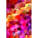 Geometric Fall Pattern 5.5  x 8.5  Notebooks Front Cover Inside