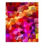Geometric Fall Pattern Shower Curtain 60  x 72  (Medium)  54.25 x65.71 Curtain