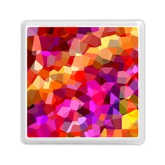Geometric Fall Pattern Memory Card Reader (square)  by DanaeStudio
