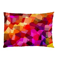 Geometric Fall Pattern Pillow Case (two Sides)