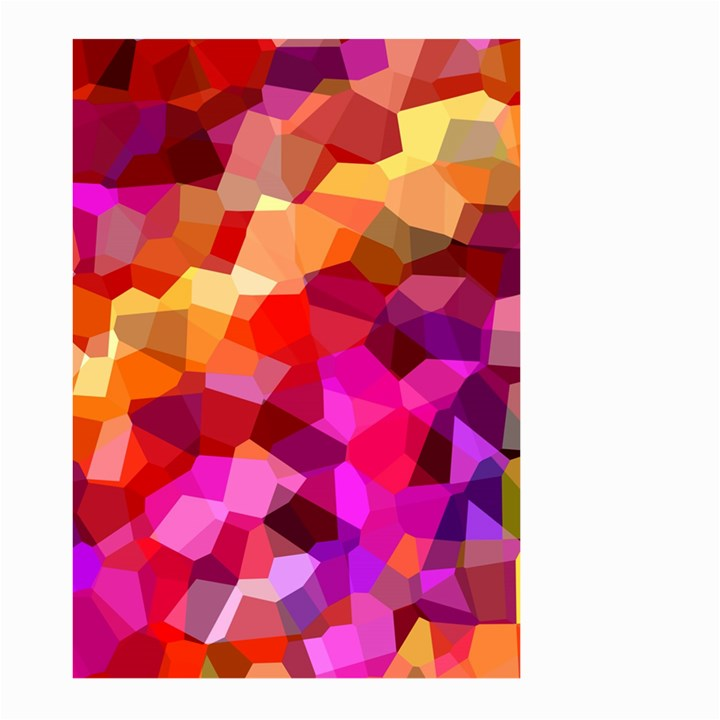 Geometric Fall Pattern Large Garden Flag (Two Sides)