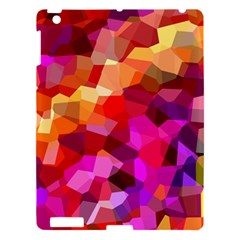 Geometric Fall Pattern Apple Ipad 3/4 Hardshell Case by DanaeStudio