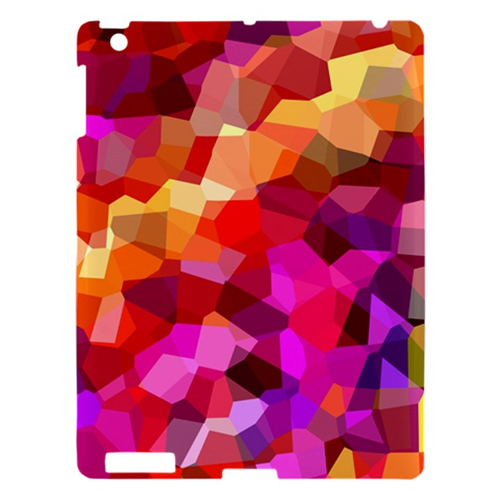 Geometric Fall Pattern Apple iPad 3/4 Hardshell Case