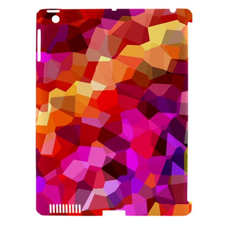Geometric Fall Pattern Apple iPad 3/4 Hardshell Case (Compatible with Smart Cover)