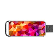 Geometric Fall Pattern Portable Usb Flash (two Sides) by DanaeStudio